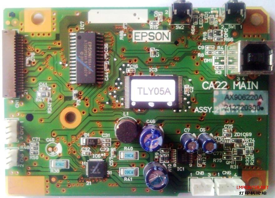 epson t21主板电路图