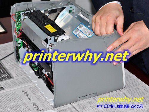 赛纳科技自主知识产权国产奔图p2000激光打印机内部结构拆机图解教程